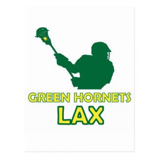 Green Hornets Shot 2 Postcard