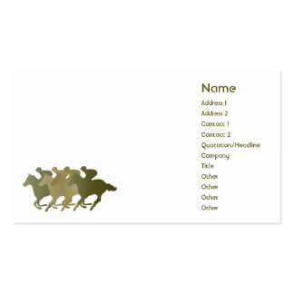 Green Horse - Business Double-Sided Standard Business Cards (Pack Of 100)
