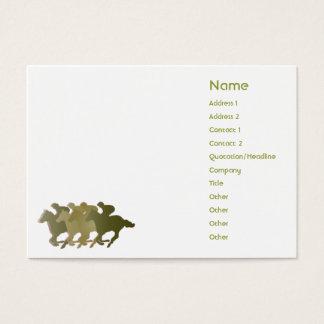 Green Horse - Chubby Business Card