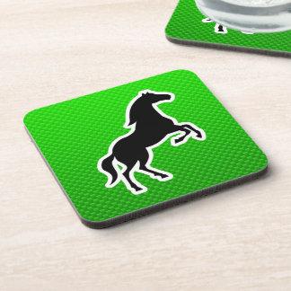 Green Horse Drink Coaster