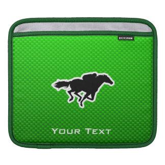 Green Horse Racing Sleeve For iPads