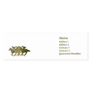 Green Horse - Skinny Business Card