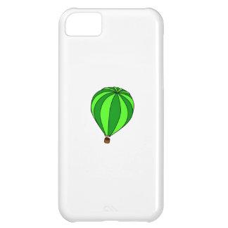 Green Hot Air Ballon Cartoon iPhone 5C Cases