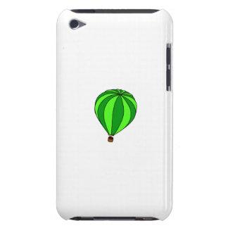 Green Hot Air Ballon Cartoon iPod Touch Case-Mate Case