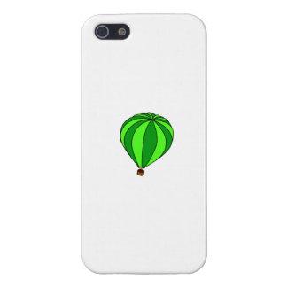 Green Hot Air Ballon Cartoon iPhone 5 Cover