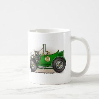 Green Hot Rod Car Mugs