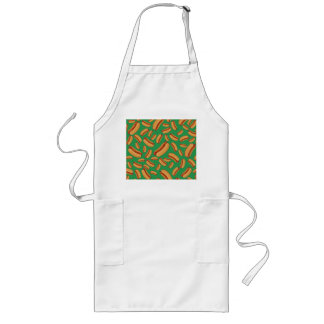 Green hotdogs aprons