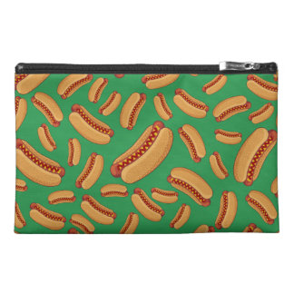 Green hotdogs travel accessories bag