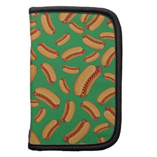 Green hotdogs planner