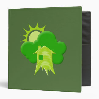 Green House 3 Ring Binder