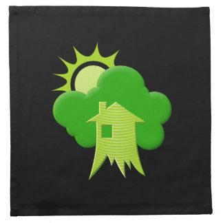 Green House Cloth Napkin