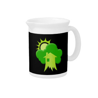 Green House Drink Pitcher