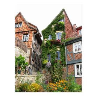 green house effect postcard