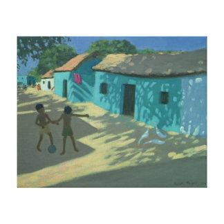 Green House India Canvas Print