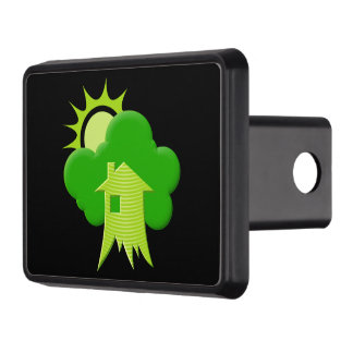Green House Trailer Hitch Covers