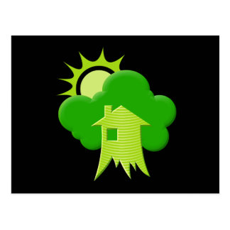 Green House Postcard