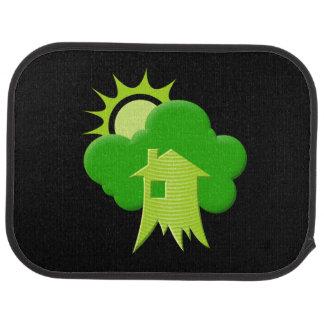 Green House Car Mat