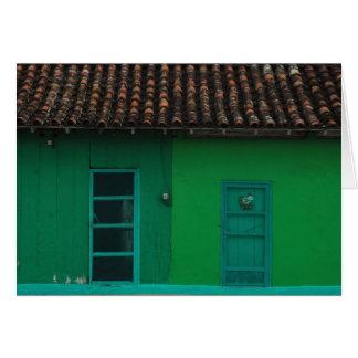 Green Houses Card