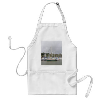 Green Hulled Traditional Cutter Adult Apron
