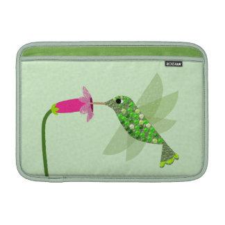 Green Hummingbird MacBook Air Sleeves