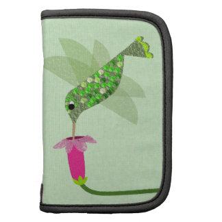 Green Hummingbird Folio Planner