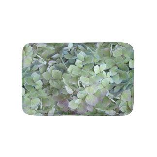 Green Hydrangea Floral Photography Bath Mat Bath Mats