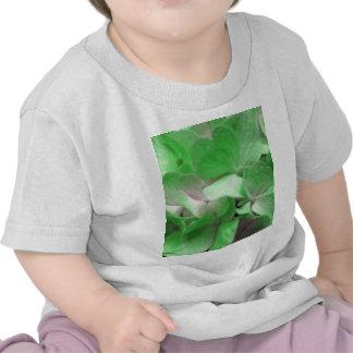 Green Hydrangea Tee Shirt