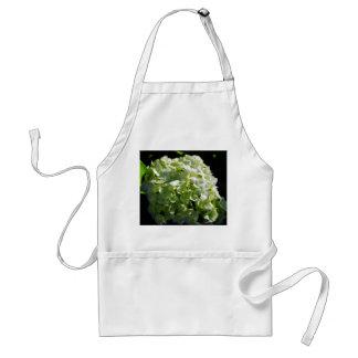Green Hydrangeas Flowers Adult Apron