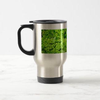 Green Hydroponic lettuce leaves Coffee Mug