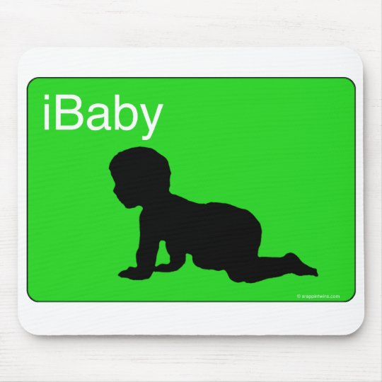 Green iBaby Mouse Pad