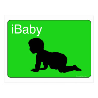 Green iBaby Postcard