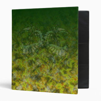 Green Ice Dragonheart Binder