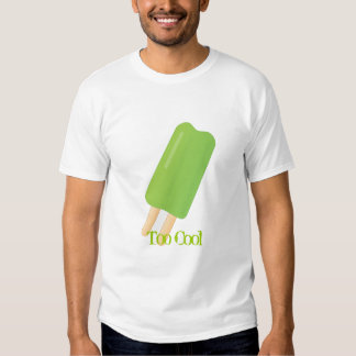 Green Ice Pop T-shirts