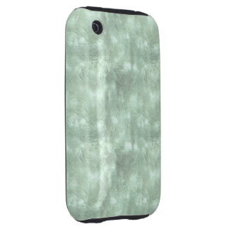 Green Iced Window iPhone 3 Tough Covers