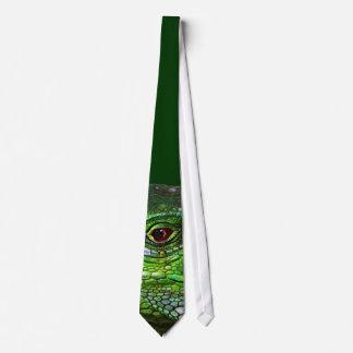 Green Iguana Collection Neck Tie