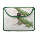 "Green Iguana Lizard 13"" MacBook Sleeve MacBook Pro Sleeves"