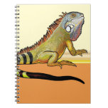 green iguana notebook