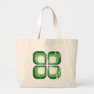 Green Ikon Tote Bags