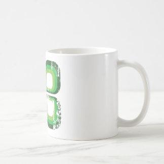 Green Ikon Classic White Coffee Mug