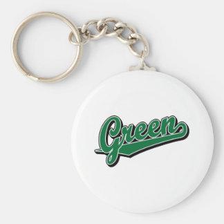 Green in Green Keychain