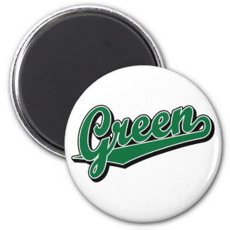 Green in Green Magnet
