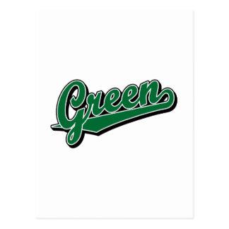 Green in Green Postcard