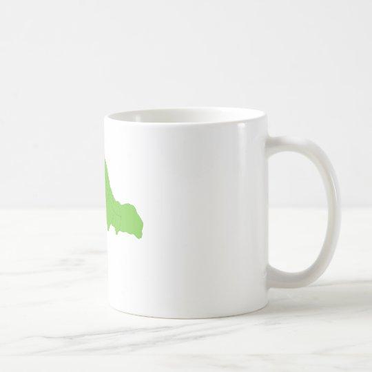 Green Inchworm Coffee Mug