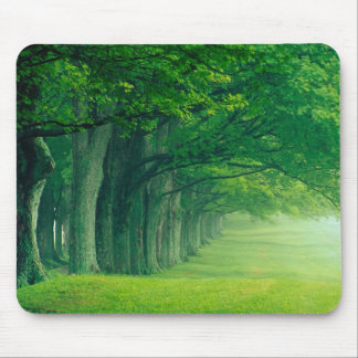 Green inferno mouse pad