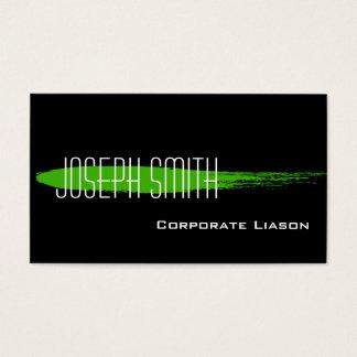 Green Ink Spot Standard Business Cards