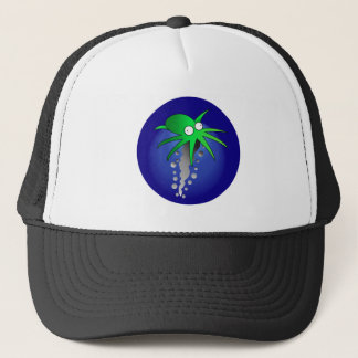 Green Ink Trucker Hat