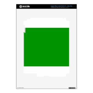 Green iPad 3 Skin