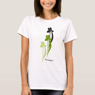 Green Iris Trio T-Shirt