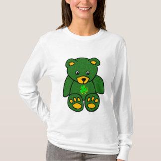 Green Irish Bear T-Shirt