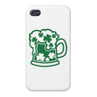 Green irish beer covers for iPhone 4